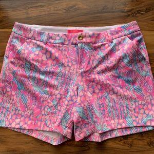 Lilly Pulitzer Jayne knit shorts 16